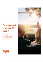 Rapport d'activité CDT 2017