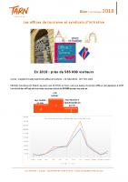 Bilan des Offices de Tourisme 2018
