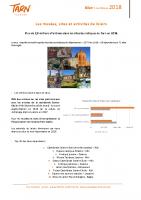 Bilan des musées, sites et activités 2018