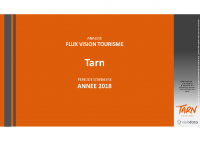 Flux Vision Tourisme – Orange Tarn 2018