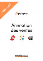 Fiche outil : animation des ventes