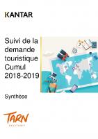 Profil des touristes français dans le Tarn sdt 2018-2019 Kantar